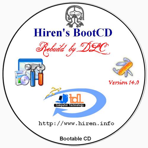 hiren boot cd 14.0